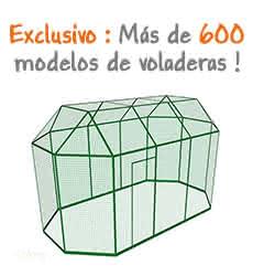 600 modelos de voladeras